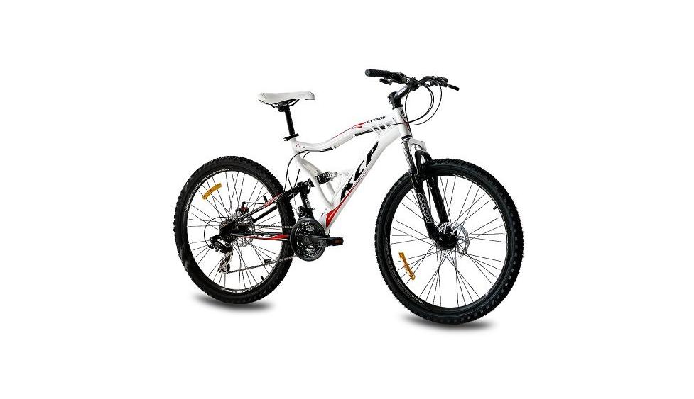 26 kcp mountainbike fahrrad attack 21 gang shimano im test. Black Bedroom Furniture Sets. Home Design Ideas