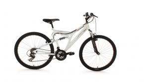 KS Cycling Fahrrad Mountainbike Fully Zodiac RH 48 cm