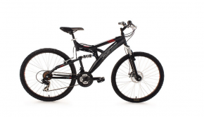 KS Cycling Fahrrad Mountainbike Pm359 Black Pearl