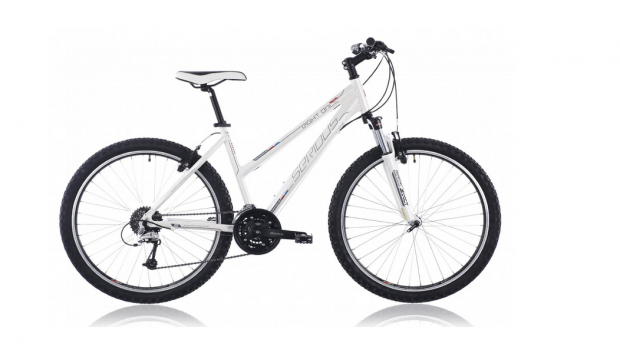 Serious Mountainbike Eight Ball Lady white glossy